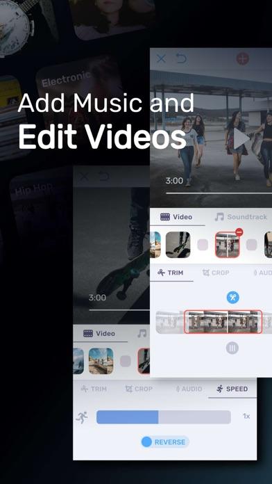 Video Maker with Music Editor Screenshot