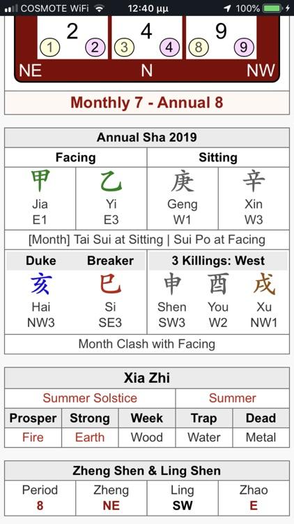 Feng Shui Calc Professional screenshot-4