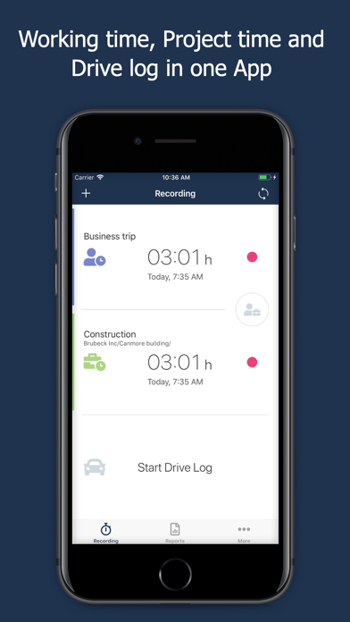 messages.download timr - Time & Mileage Tracker software