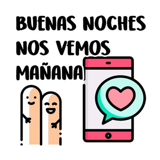 Stickers de saludos en español