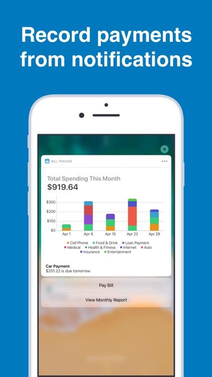 Bill Tracker Pro screenshot-5
