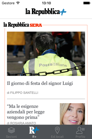 la Repubblica - náhled