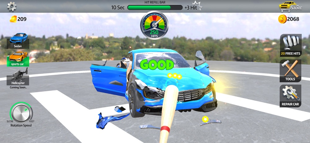 Stress Car hack tool