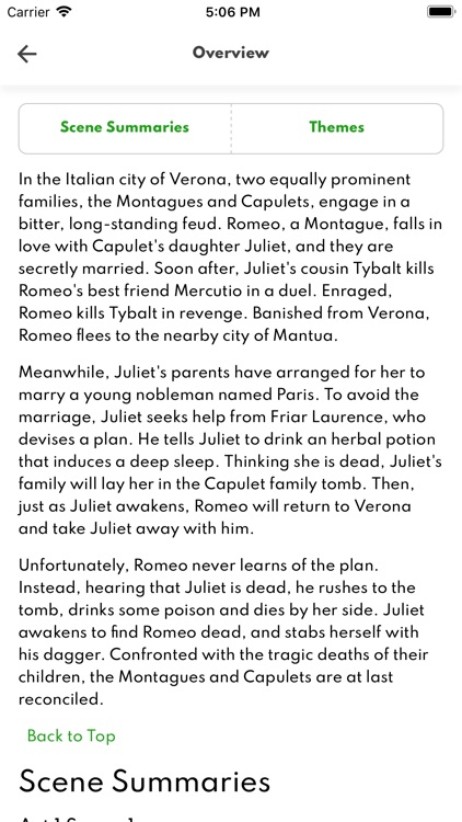 Romeo and Juliet Full Audio screenshot-5