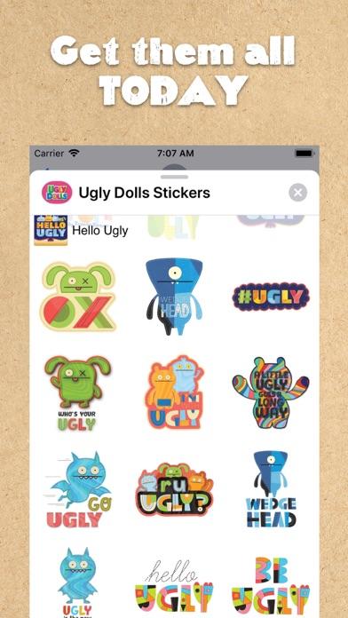 UglyDolls Stickersのおすすめ画像7