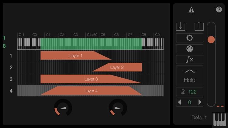 LayR-Multi Timbral Synthesizer screenshot-3