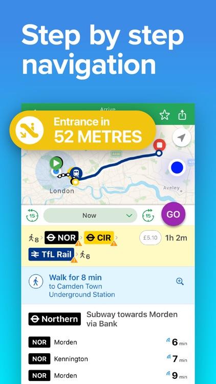 Next Bus UK: Train & Bus Times screenshot-3