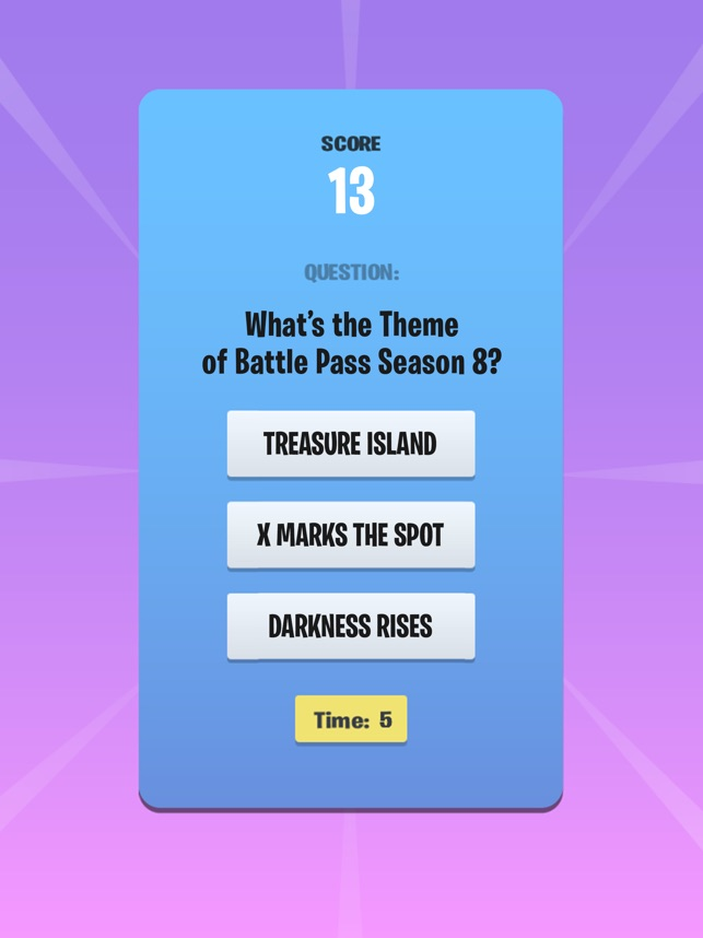 Quiz Fortnite Free Quiz Online Questions And Answers Free