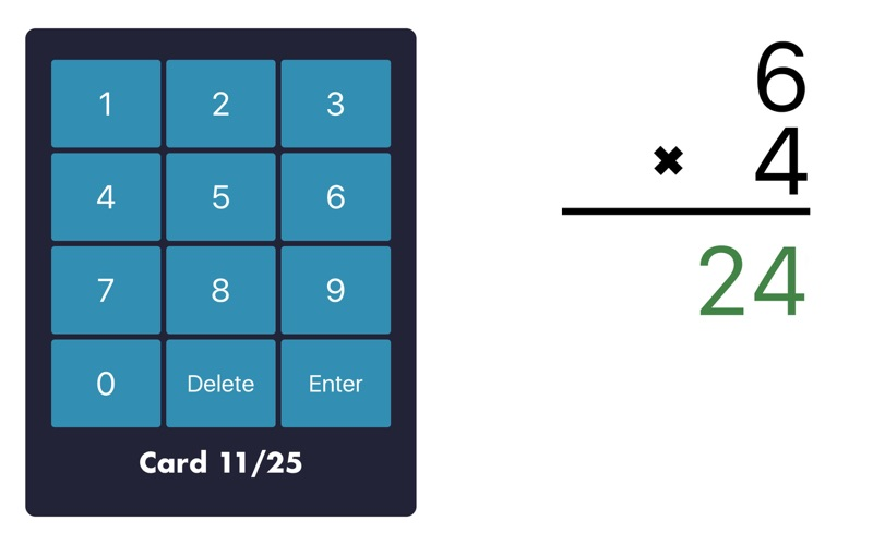 MathEdge Multiplication for Mac