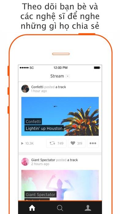 Screenshot for SoundCloud - nhạc và âm thanh in Viet Nam App Store