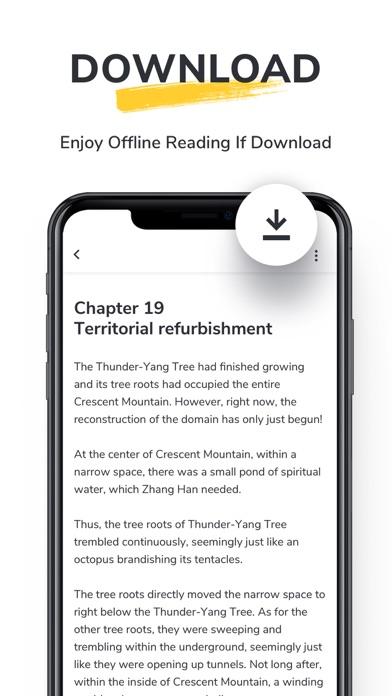 TapRead - Fictions & Original Screenshot