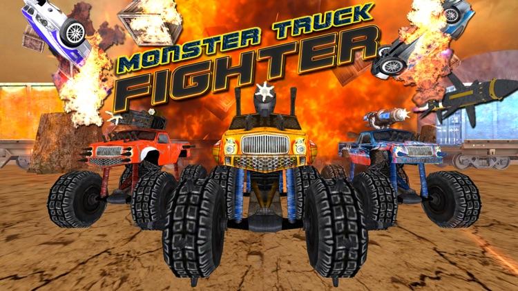 Crazy Monster Truck Fighter 3D screenshot-0