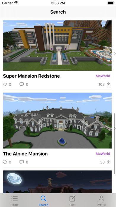 Addons for Minecraft Community Screenshot