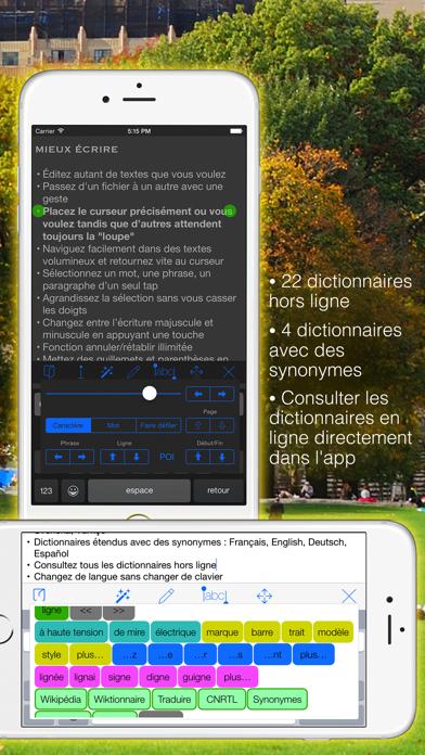 Screenshot #2 pour Textkraft Pocket