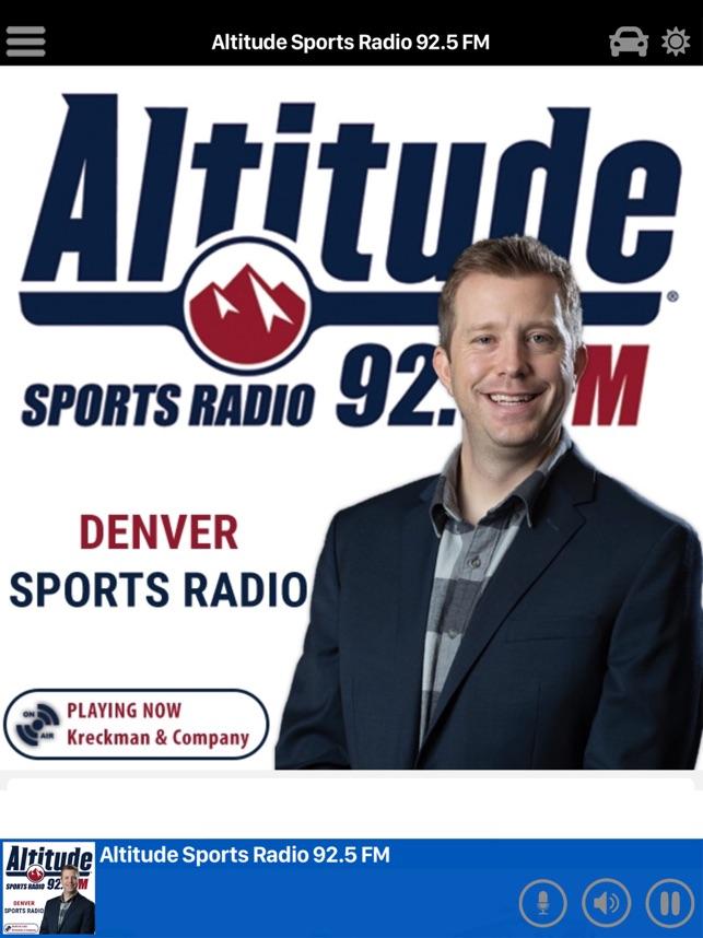 Altitude Sports Radio On The App Store