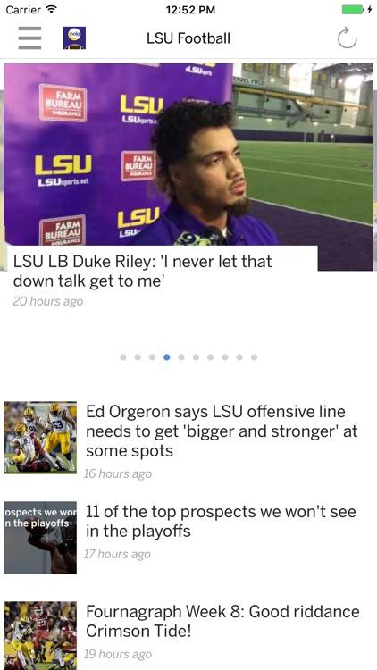 LSU Tigers Football News