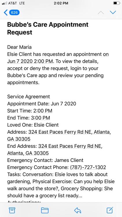 Bubbe's Care Provider screenshot-3