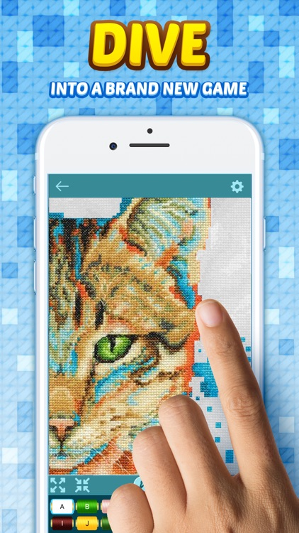 Cross Stitch: Color by Letters screenshot-4