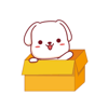 download Lovely Puppy Animated Stickers
