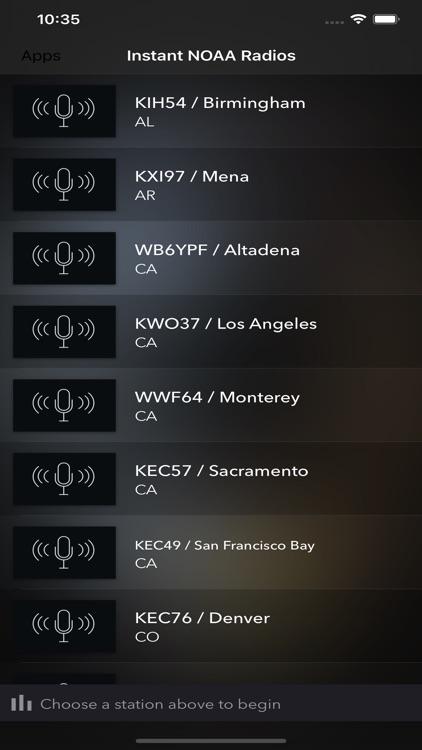 Instant NOAA Radios Lite