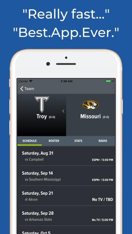 Missouri Football Schedules screenshot-8