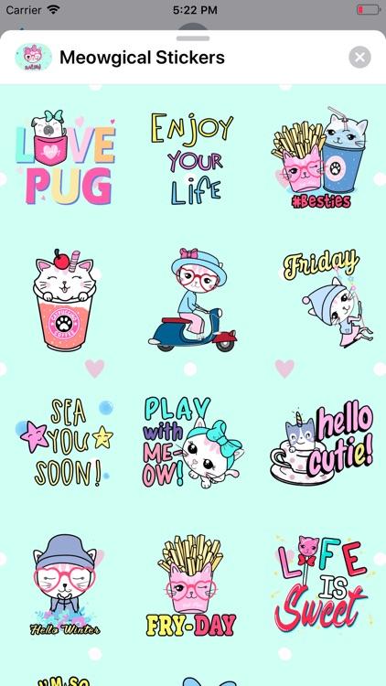 Meowgical: Animated Stickers screenshot-5