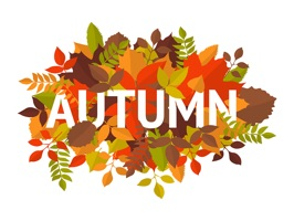 The AutumnCTG is a small sticker, which are show the 30 Autumn CTG sticker in cartoon