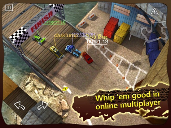 Reckless Racing HD для iPad