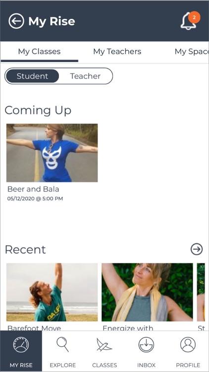 Rise – Wellbeing Classes screenshot-3