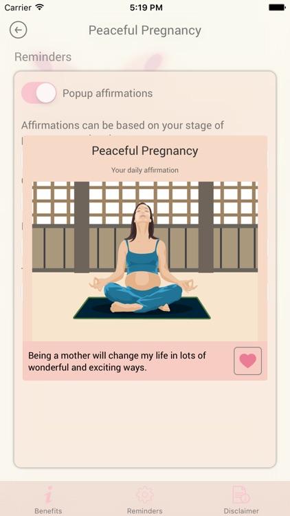 Peaceful Pregnancy: Easy Birth screenshot-4
