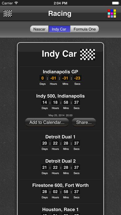Racing review screenshots