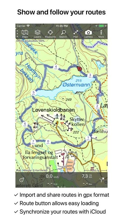 Topo GPS Norway