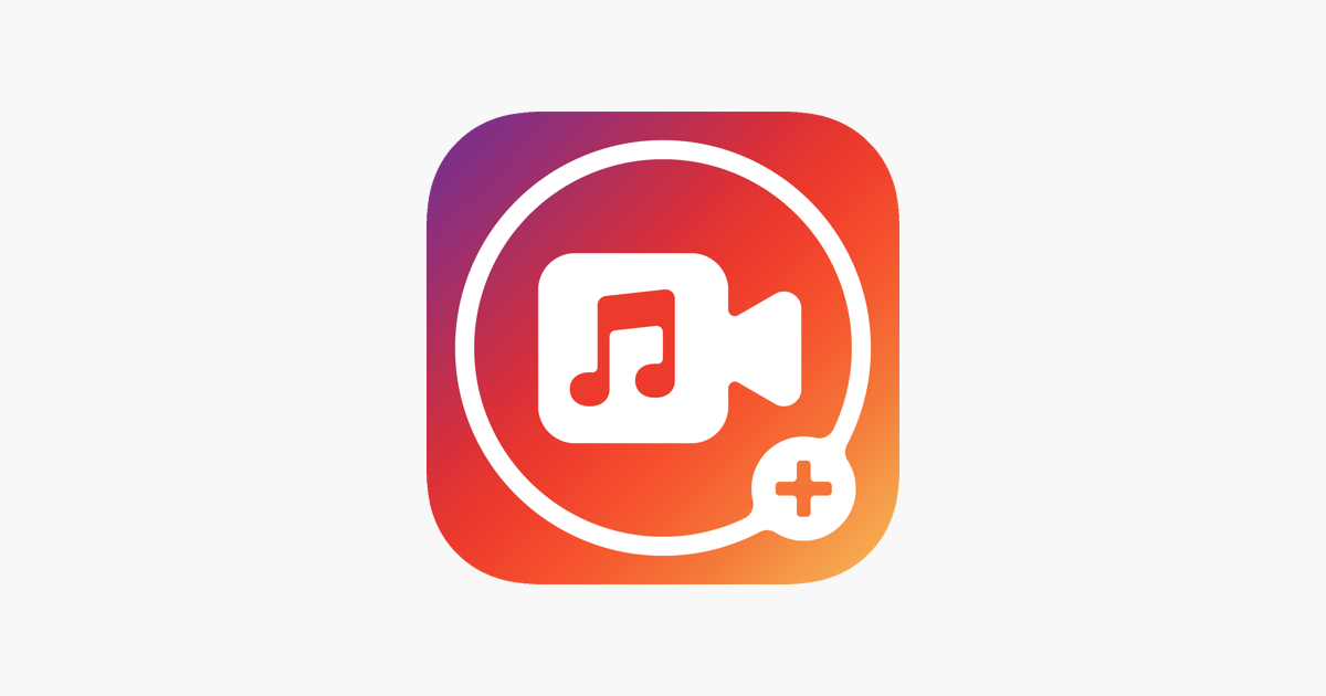 video app you can add music to