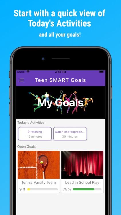 Teen SMART Goals screenshot-0