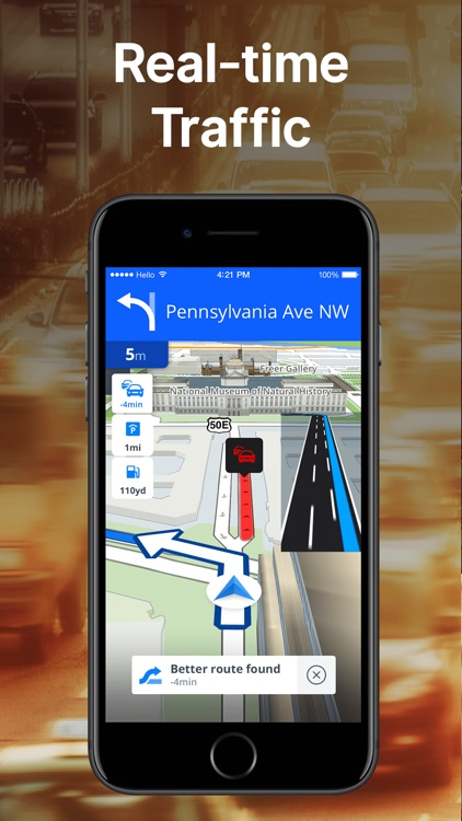 Sygic GPS Navigation & Maps screenshot-3