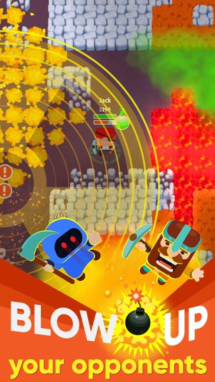 Dig Bombers: Battle Royale screenshot-4