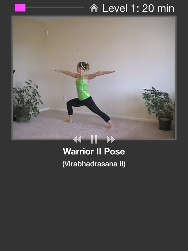 ‎Simply Yoga - Fitness Trainer Screenshot