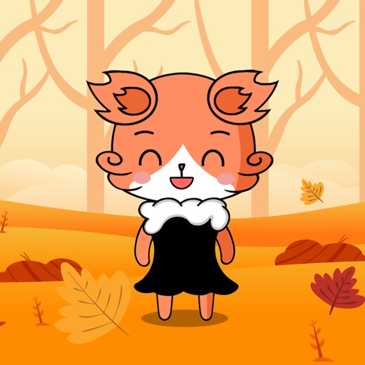 Beautiful Fox Lady