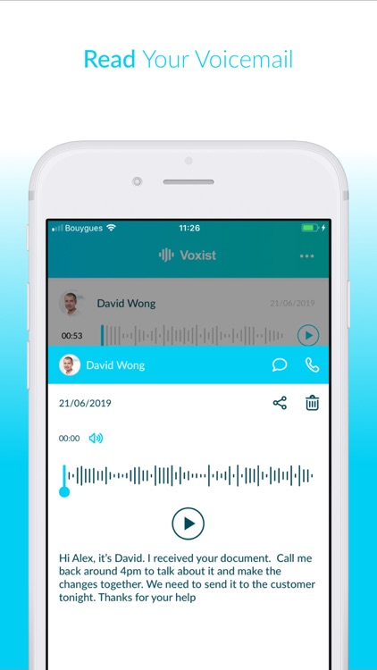 Voxist: Visual Voicemail