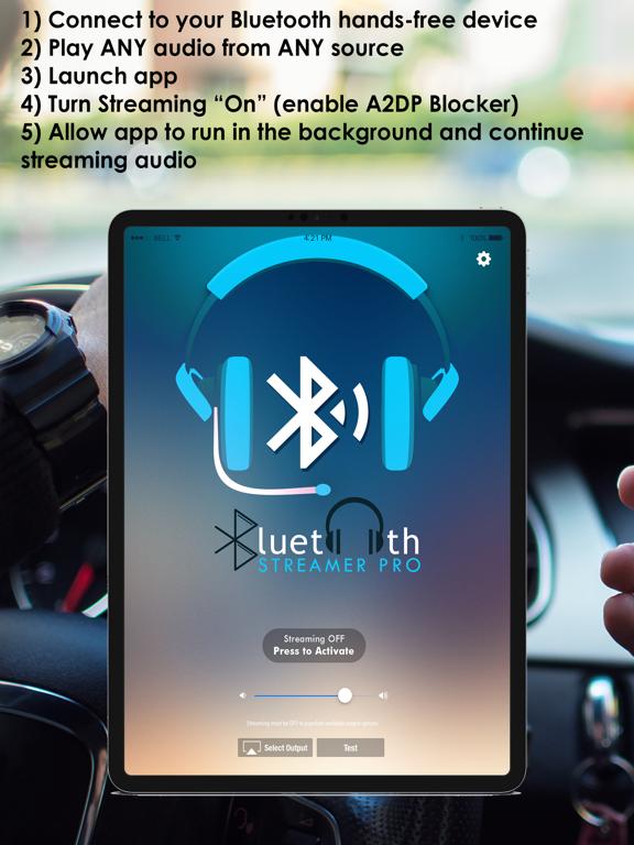Bluetooth Streamer Pro screenshot