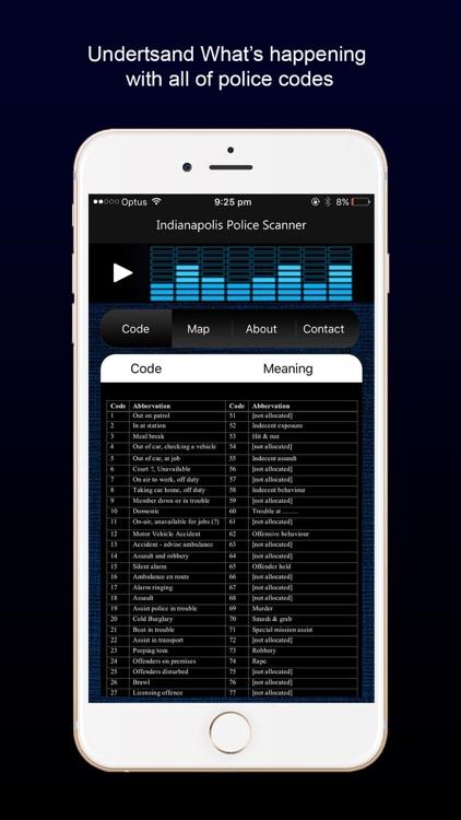Indianapolis Police Radio screenshot-4