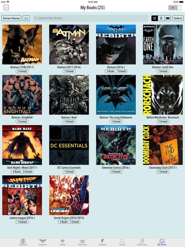 DC Comics on the App Store