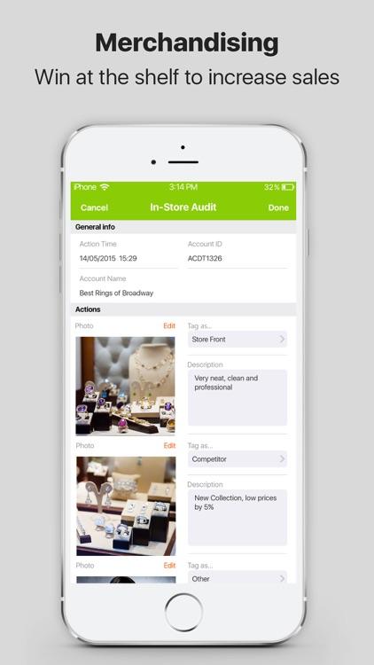 Pepperi Sales Rep App screenshot-3