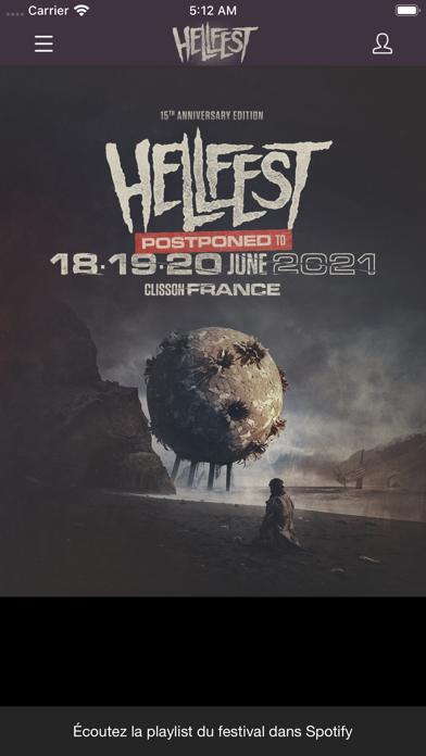 Screenshot #3 pour HELLFEST 2021