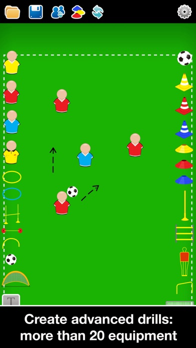 Screenshot for Coach Tactic Board: Soccer++ in Australia App Store