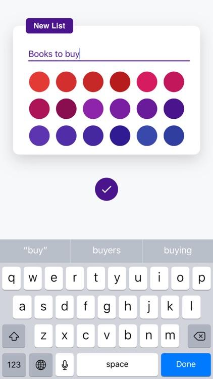 Listify - Simple Todo App screenshot-3