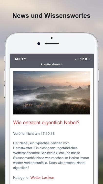 Wettervorhersagen Schweiz screenshot-7