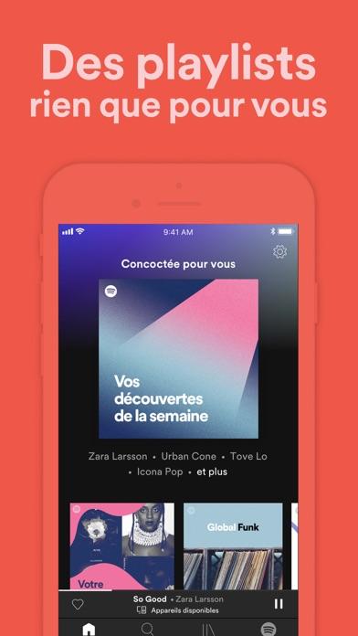 Spotify : Musique et podcasts sur pc