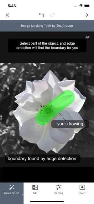 Focus Effect - by TinyCrayon on the App Store