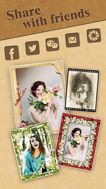 Portrait Sketch - Filter Booth screenshot-3